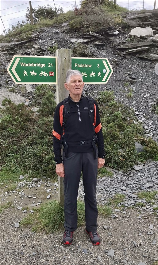 Tackling the Camel Trail in the Autumn 2019